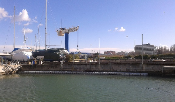 posti barca blunautica a porto verde