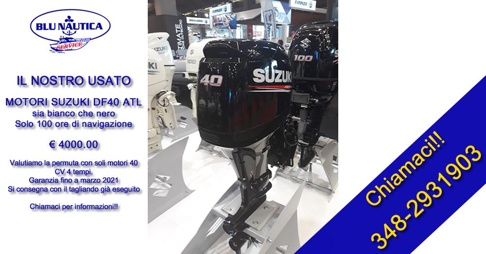 Motore usato Suzuki DF40 ATL