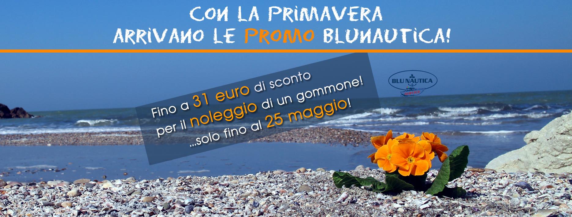 Blunautica noleggio gommoni - promo di primavera